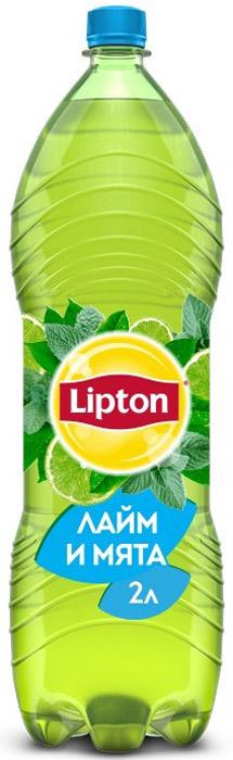 Lipton Ice Tea Лайм-Мята холодный чай, 2 л