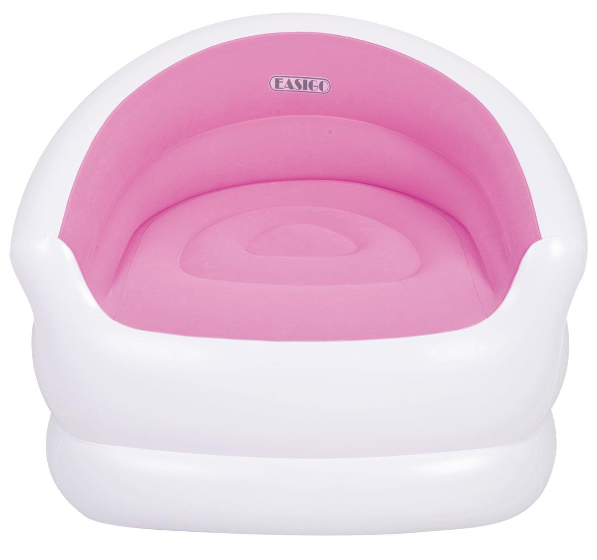 """Кресло надувное Relax """"Colour Splash"""", цвет: розовый, 94 х 83 х 76 см"""