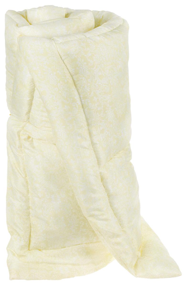 Одеяло Тихий час Идеал, теплое, цвет: желтый, белый, 200 х 220 смТЧХ 1-5ТКоллекция синтетических подушек и одеял Идеал отличает высокое качество изделия при оптимальной цене. Наполнитель синтетических одеял и подушек коллекции Идеал — полое силиконизированное волокно, которое на сегодняшний день является самым популярным и экологически чистым наполнителем.Лёгкие в уходе и гигиеничные, эти изделия привлекают длительной износостойкостью и невысокой ценой. Подушки и одеяла Идеал гипоаллергенны. Изделие легко в уходе, возможна бережная стирка.
