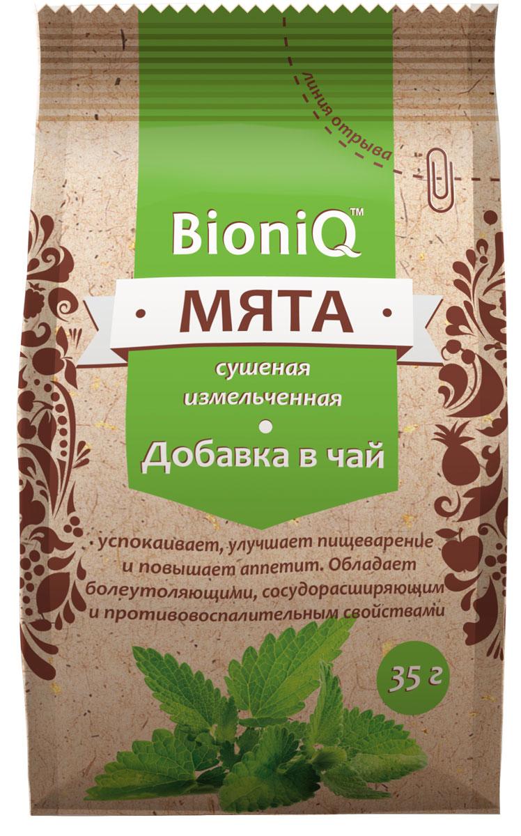 BioniQ Добавка в чай мята сушеная, 36 г