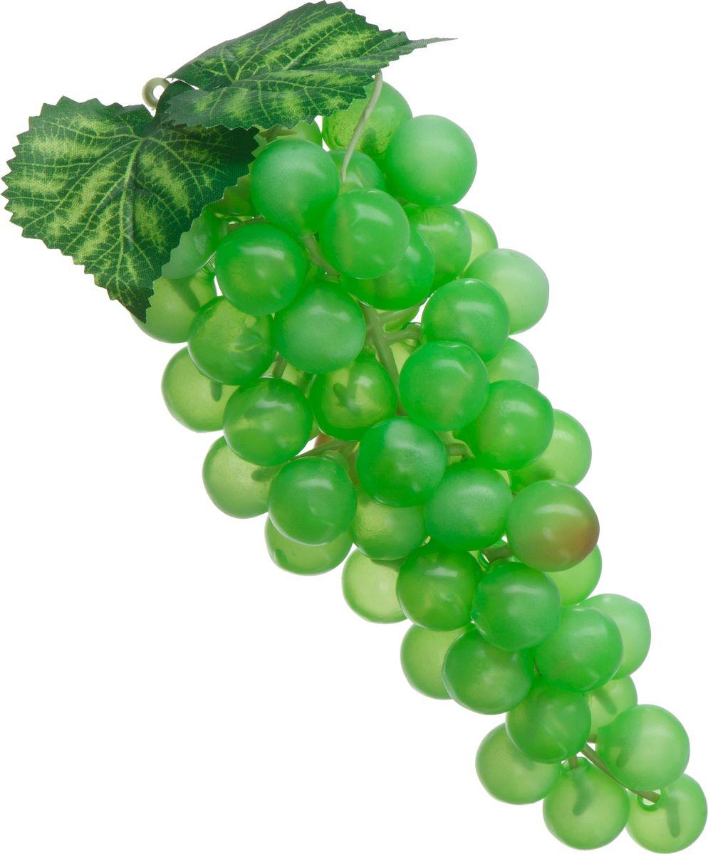 Муляж Engard Гроздь винограда, цвет: зеленый, 23 смFR-33_зеленыйИскусственный фрукт - это идеальный способ украсить кухню или способ придать яркости интерьеру.Фрукт выглядит реалистично, сочно и ярко. Благодаря высокому качеству фрукт не потускнеет со временем.