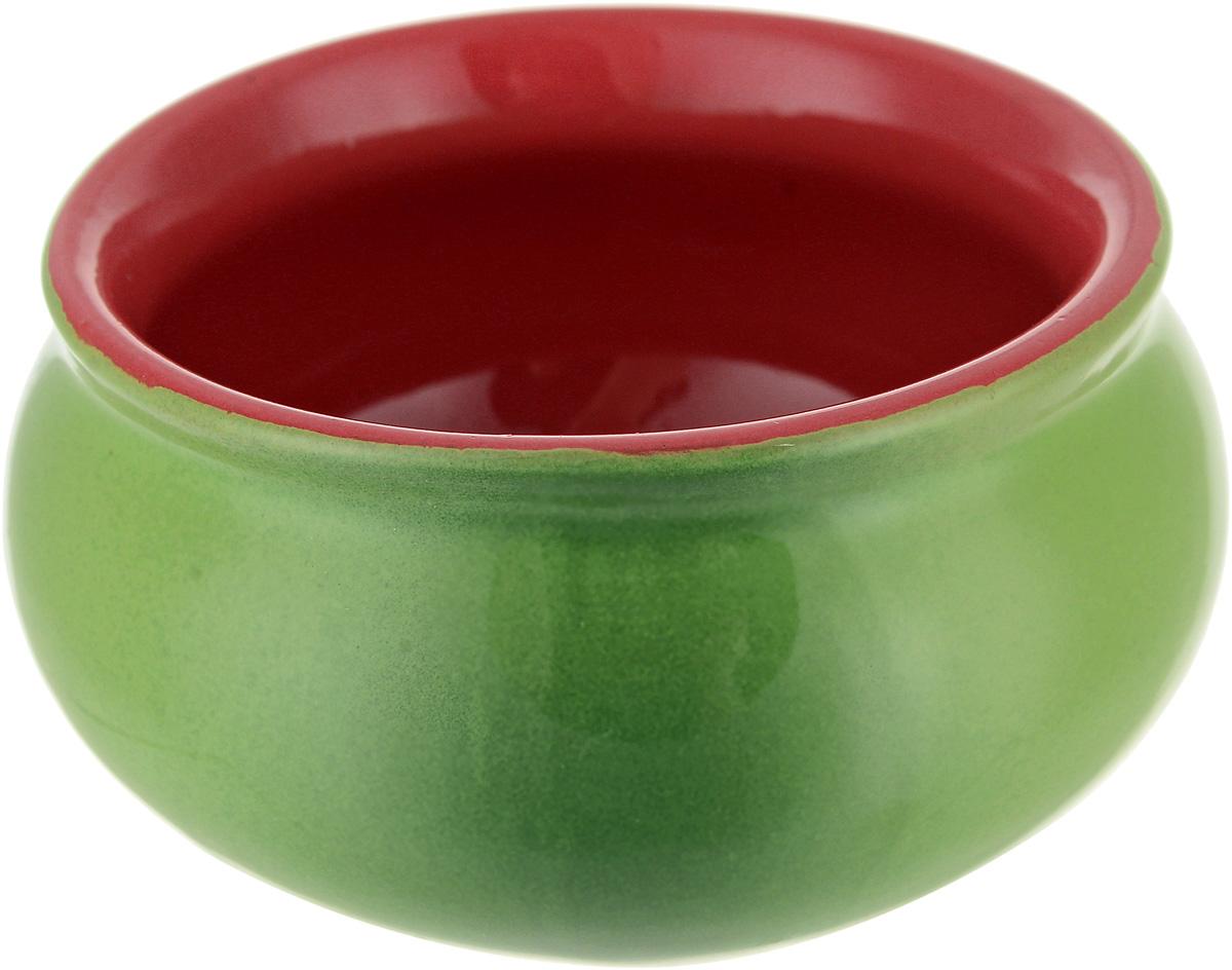 Розетка Борисовская керамика Скифская, цвет: зеленый, оранжевый ostin футболка с новогодним принтом