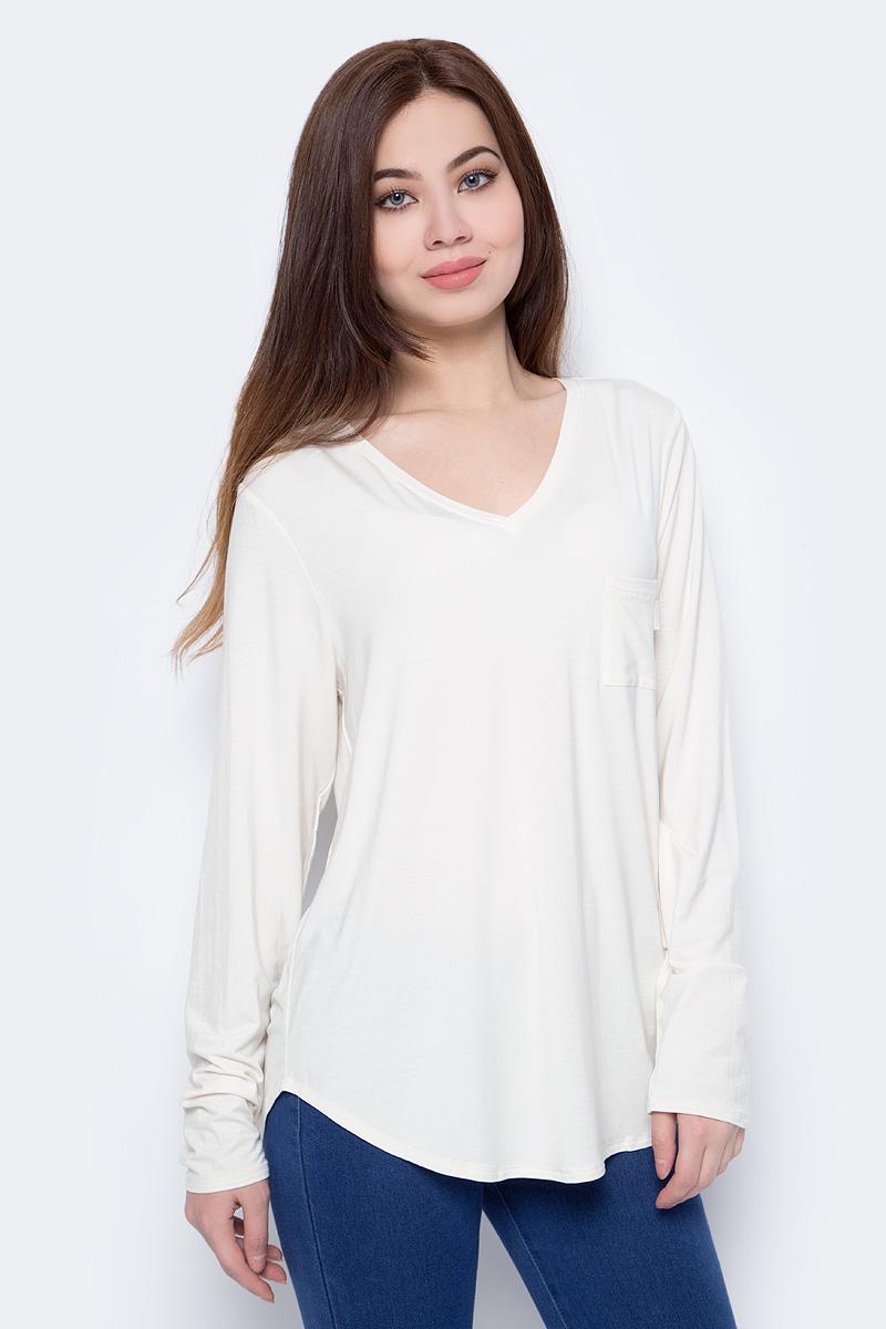 Футболка для дома женская Calvin Klein Underwear, цвет: белый. QS6057E_101. Размер S (44)QS6057E_101