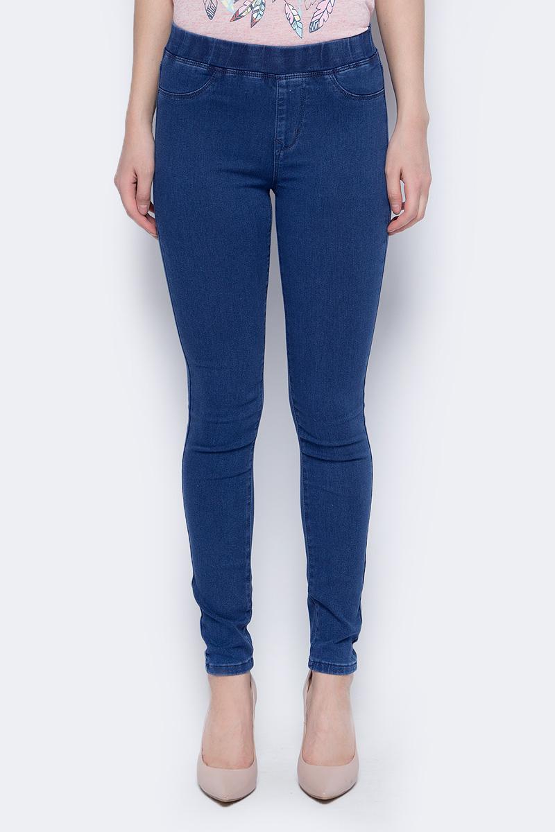 Джинсы женские Sela, цвет: синий джинс. PJ-335/010-8122. Размер 28-32 (44-32) джинсы женские artka kn14230x kn14230w