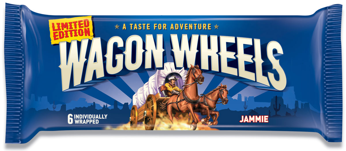 Wagon Wheels Бисквит в шоколаде с прослойкой из суфле и джема, 228 г аква минерале с г