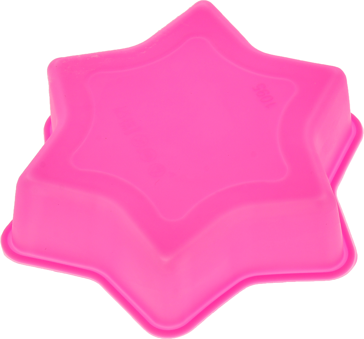 """Форма для выпечки Доляна """"Звезда"""", цвет: малиновый, 11 х 11 х 3 см"""