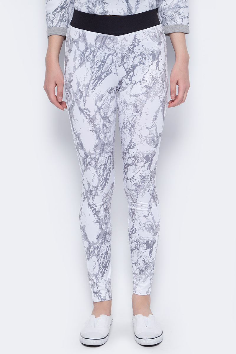 Брюки женские Sela, цвет: кипенно-белый. PLG-115/860-8192. Размер XS (42) брюки sela брюки