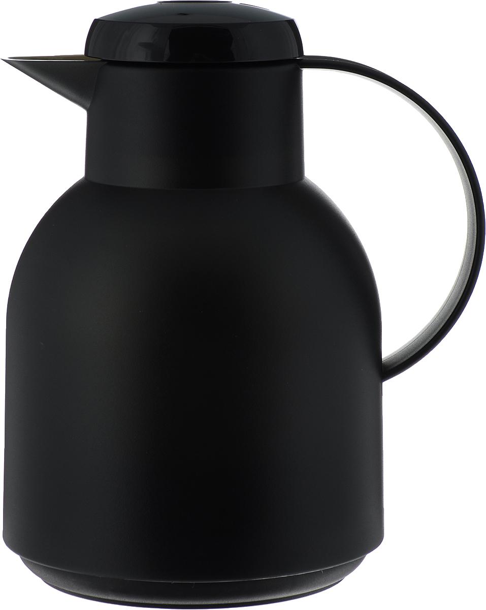 Термос-чайник Emsa Samba, цвет: черный, 1 л504235