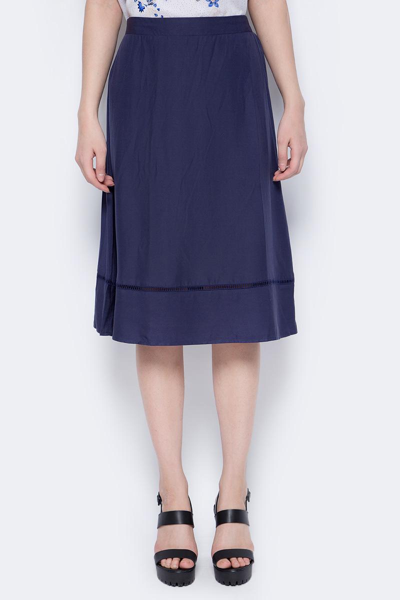 Юбка Sela, цвет: темно-синий. SK-118/071-8213. Размер 50