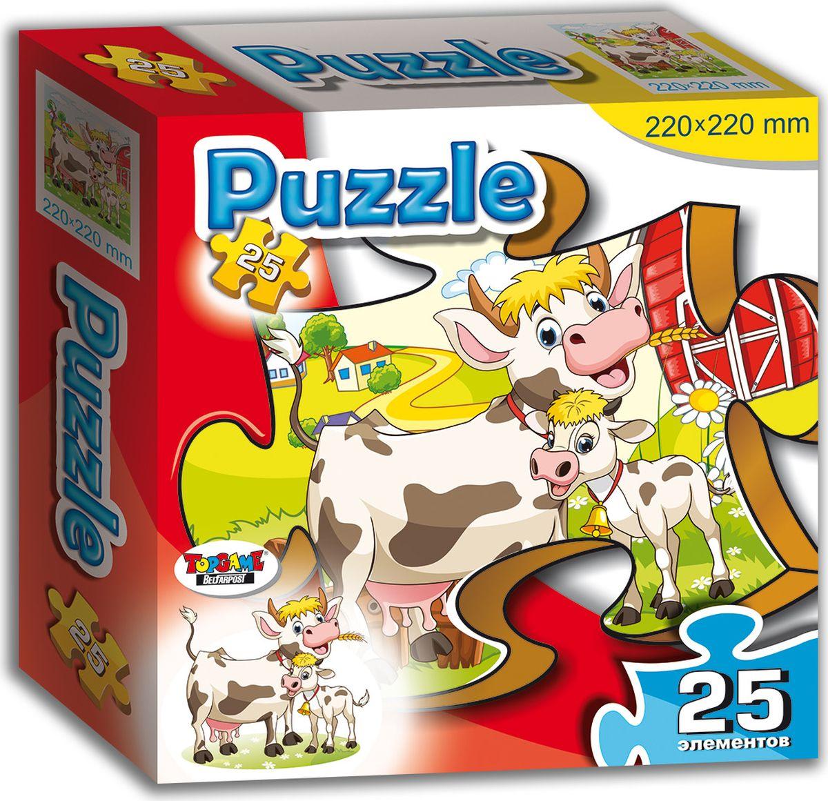 TopGame Обучающая игра Корова и теленок
