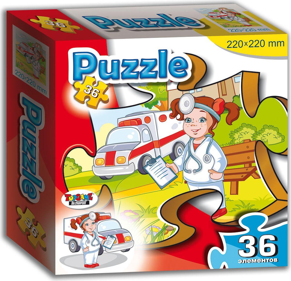 TopGame Пазл для малышей Доктор флексика пазл для малышей геометрия цвет основы красный