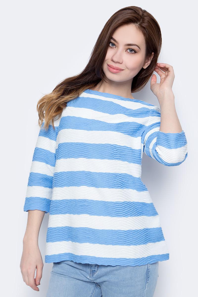 Джемпер женский Sela, цвет: голубой. T-111/786-8132. Размер XL (50)T-111/786-8132