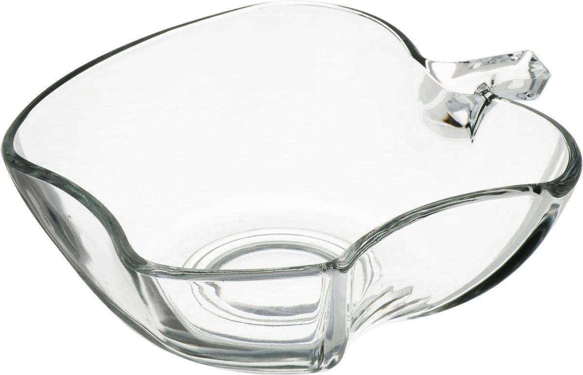 Салатник Isfahan Apple, диаметр 19 см410715Салатник изготовлен из стекла, прекрасно подойдет для подачи различных блюд: закусок, салатов или фруктов.Такой салатник украсит ваш праздничный или обеденный стол, а оригинальный дизайн придется по вкусу и ценителям классики, и тем, кто предпочитает утонченность и изысканность.