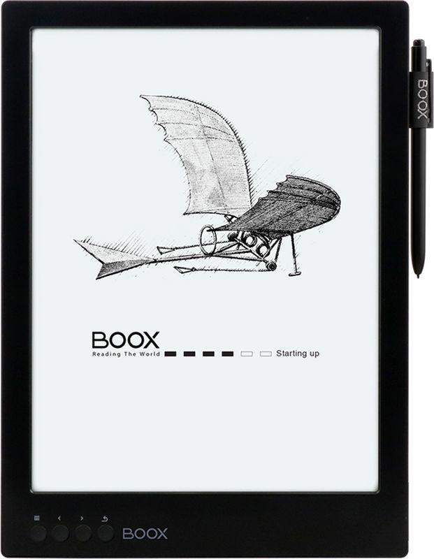 Onyx Boox Max 2, Black электронная книга business flip litchi leather case smart stand holder for apple ipad2 3 4 magnetic auto wake up sleep cover black