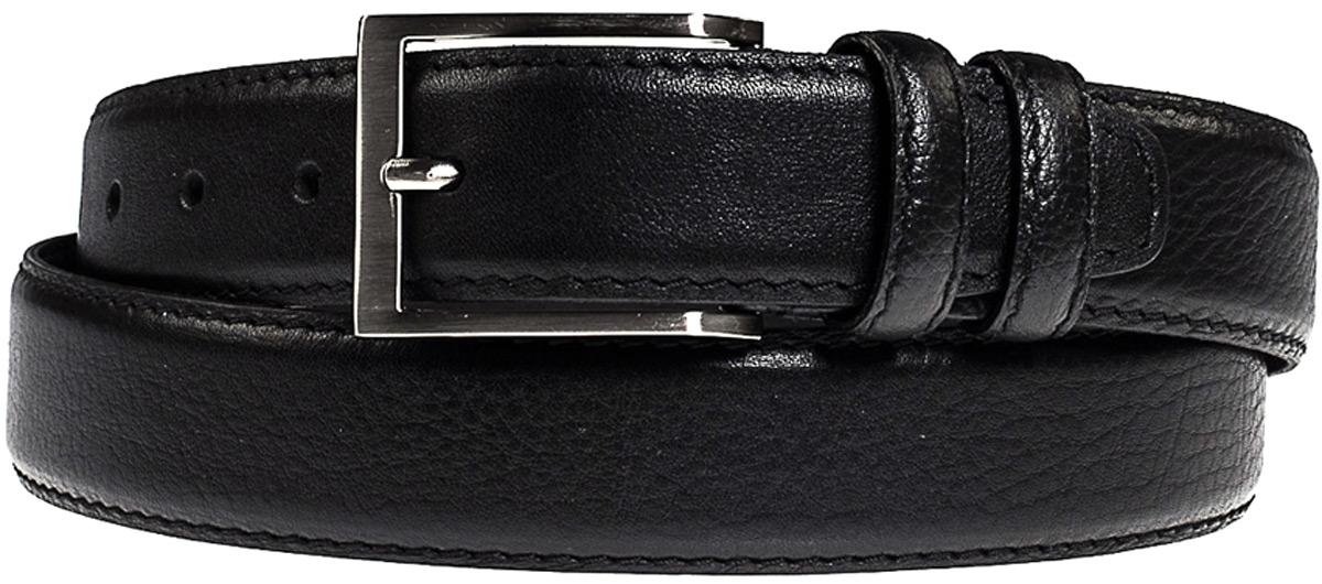 Ремень мужской Vita Pelle, цвет: черный. RK011871. Размер 125 см