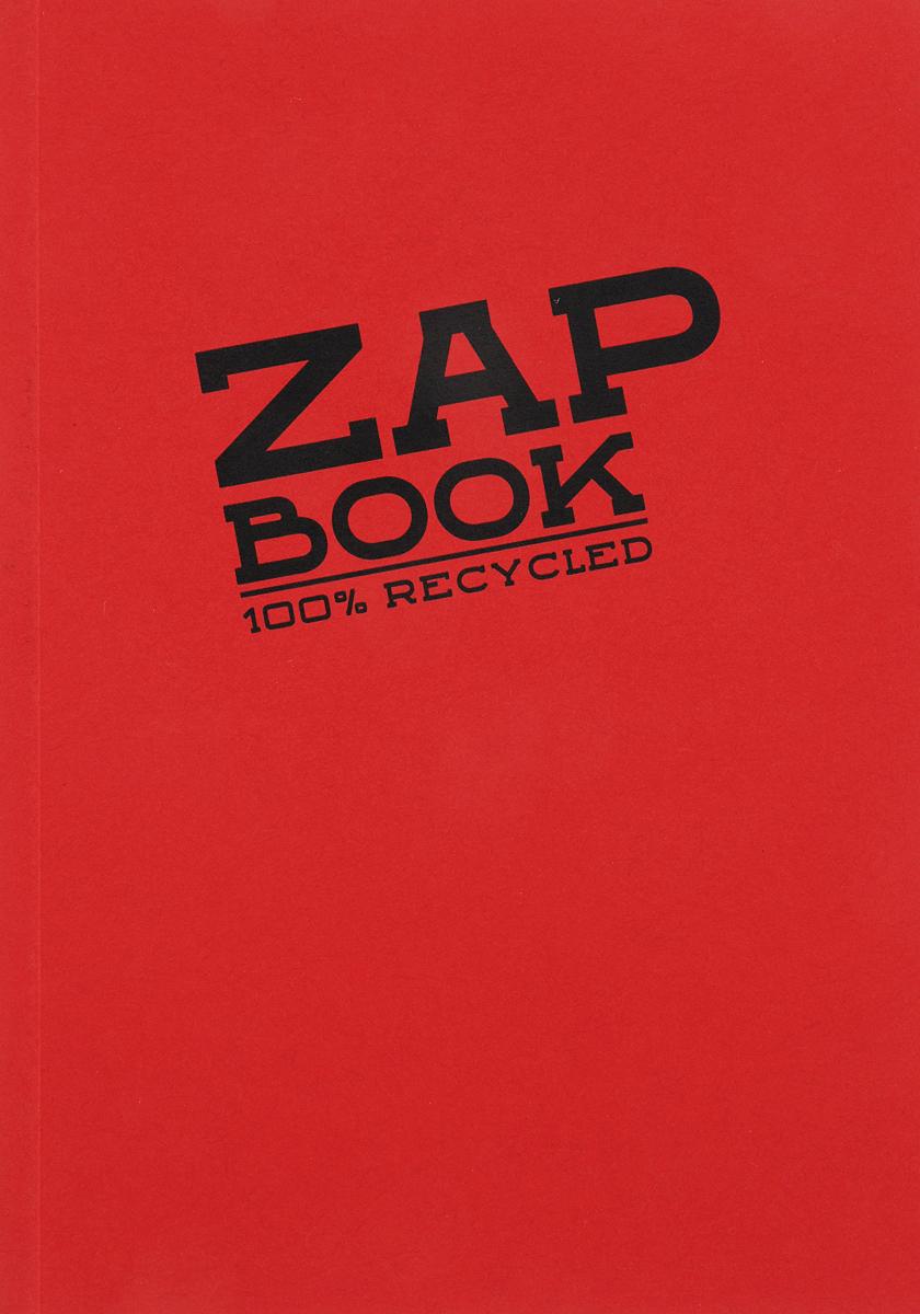 Блокнот Clairefontaine Zap Book, цвет: красный, формат A6, 160 листов. 3356С блокнот clairefontaine rhodia точки формат a6 цвет обложки оранжевый 96 листов