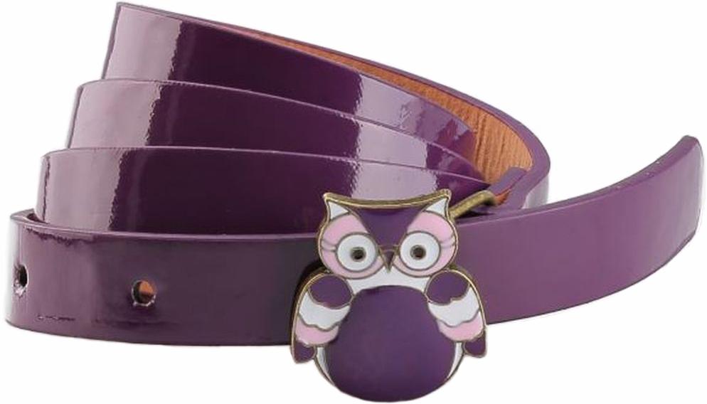Ремень для девочки Mitya Veselkov, цвет: фиолетовый. 2517799. Размер 90