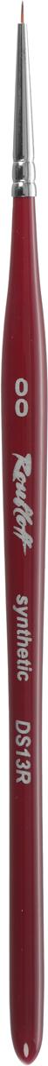 Roubloff Кисть DS2 синтетика круглая № 00DS1-00,5RNПрофессиональная кисть из синтетического волоса предназначена для росписи ногтей. Идеальна для прорисовывания очень тонких линий и мелких деталей.