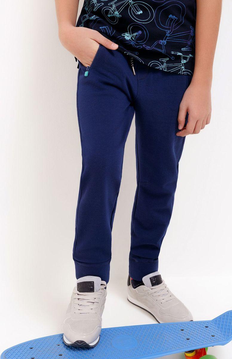 Брюки спортивные для мальчика Acoola Pele, цвет: темно-синий. 20110160143_600. Размер 164