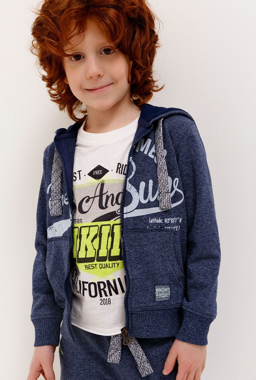 Толстовка для мальчика Acoola Zanetti, цвет: синий. 20120130116_500. Размер 122 толстовка для мальчика acoola corbusier цвет синий 20110170041 500 размер 152