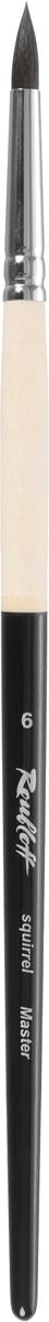 Roubloff Кисть 1167 колонок скошенная № 8 длинная ручкаЖК6-08,07ЖКисть из волоса колонка с укороченной скошенной выставкой применима как в живописной технике, так и в декоративной росписи. Длинная черная ручка с матовым покрытием надежно скреплена с ворсом анодированной алюминиевой обоймой. Наклонная форма кисти дает возможность наносить точные мазки и выписывать изящные ленты и лепестки цветов одним круговым движением руки. Идеальна для прорисовки мелких и средних краеугольных объектов