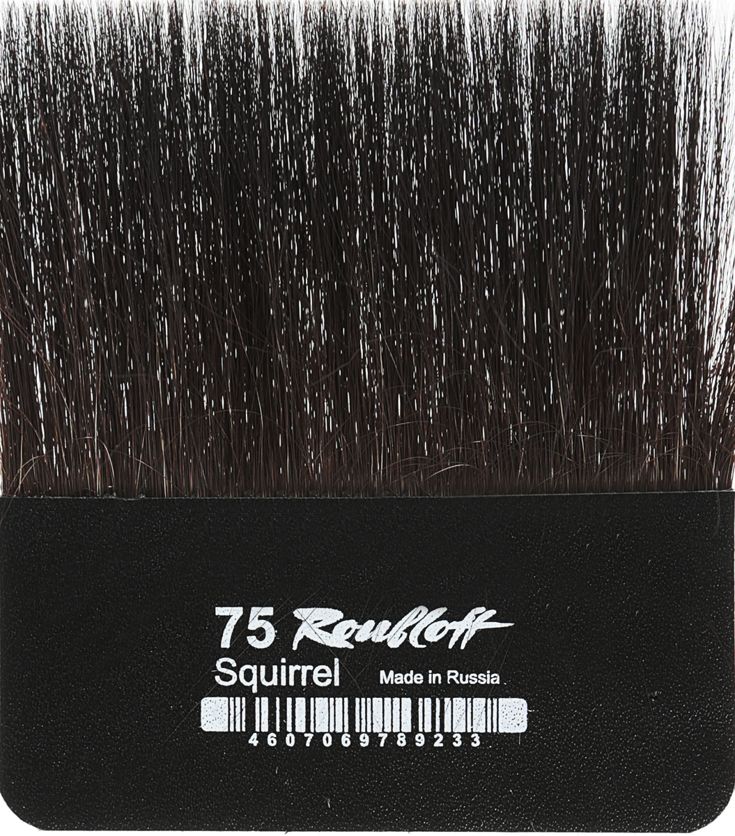 Roubloff Кисть для работы с золотом белка № 75 roubloff кисть стилус для ipad