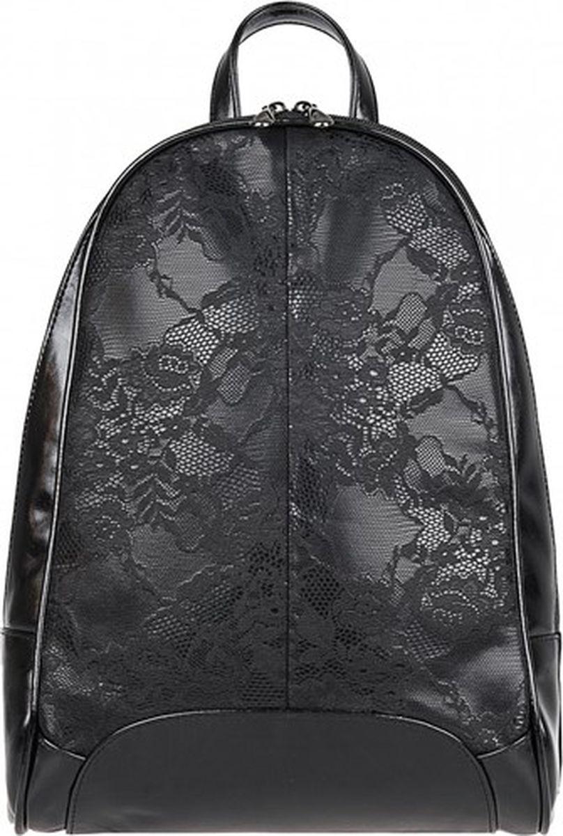 Рюкзак женский Constanta, цвет: черный. 1-3011-011