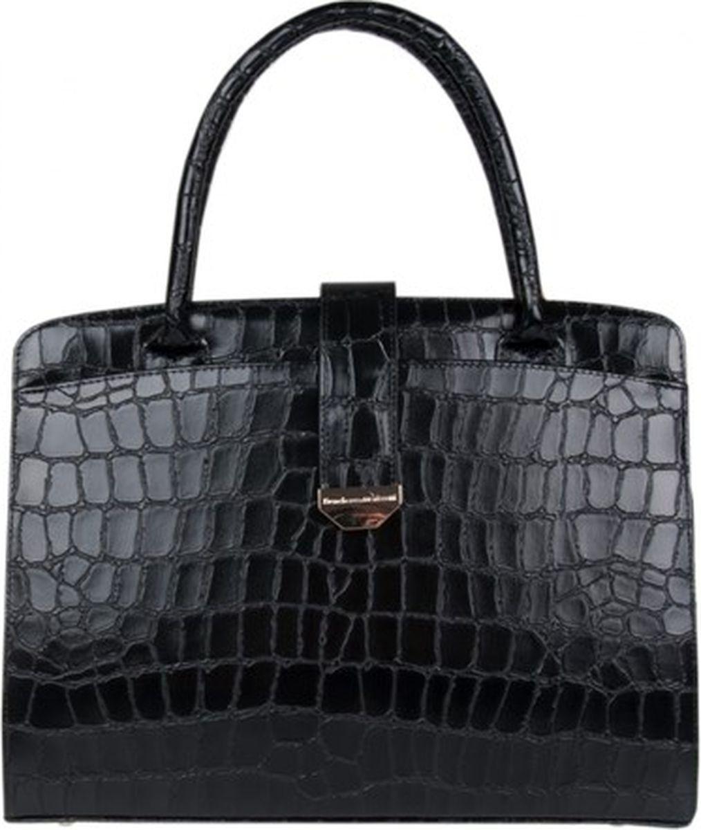 Сумка женская Franchesco Mariscotti, цвет: черный. 1-3928к