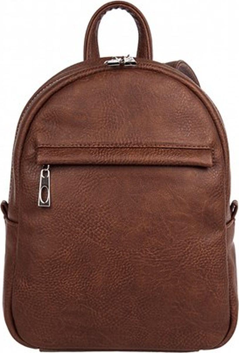 Рюкзак женский Constanta, цвет: коричневый. 1-3983-014