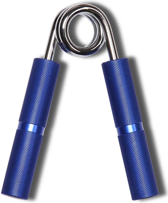 Эспандер кистевой Indigo, цвет: синий, диаметр 6,5 см, нагрузка 55 кг
