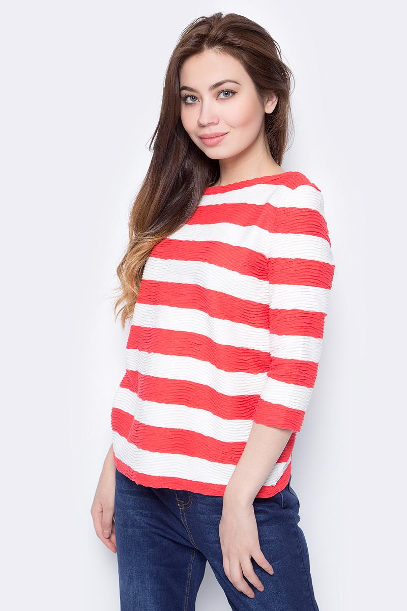 Джемпер женский Sela, цвет: красный. T-111/786-8132. Размер L (48)T-111/786-8132