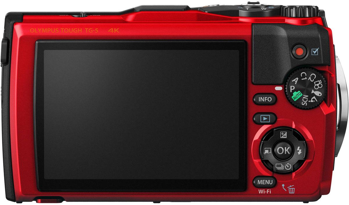 Olympus TG-5, Redцифровая фотокамера в комплекте с LG-1 Olympus