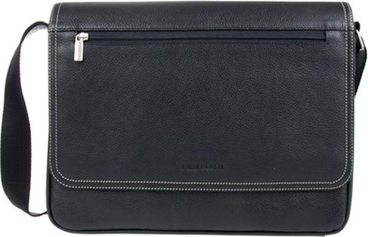 Сумка-планшет мужская Franchesco Mariscotti, цвет: черный. 2-252-1сFM