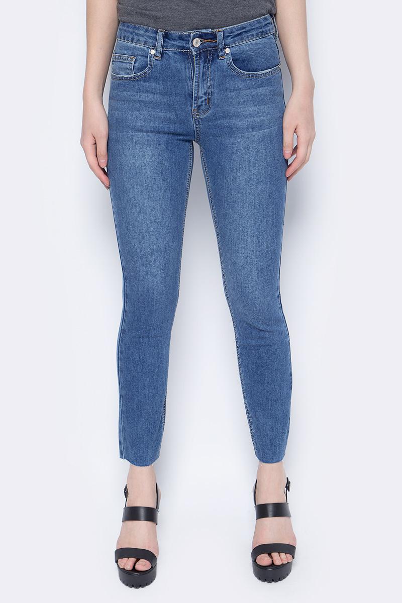 Брюки женские Sela, цвет: синий. PJ-135/644-8283. Размер 34-32 (50/52-32) брюки sela брюки
