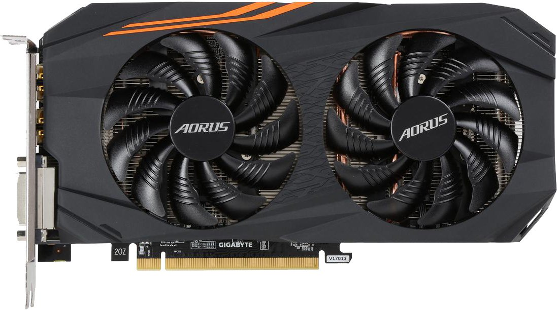 Gigabyte AORUS Radeon RX 580 8GB видеокарта