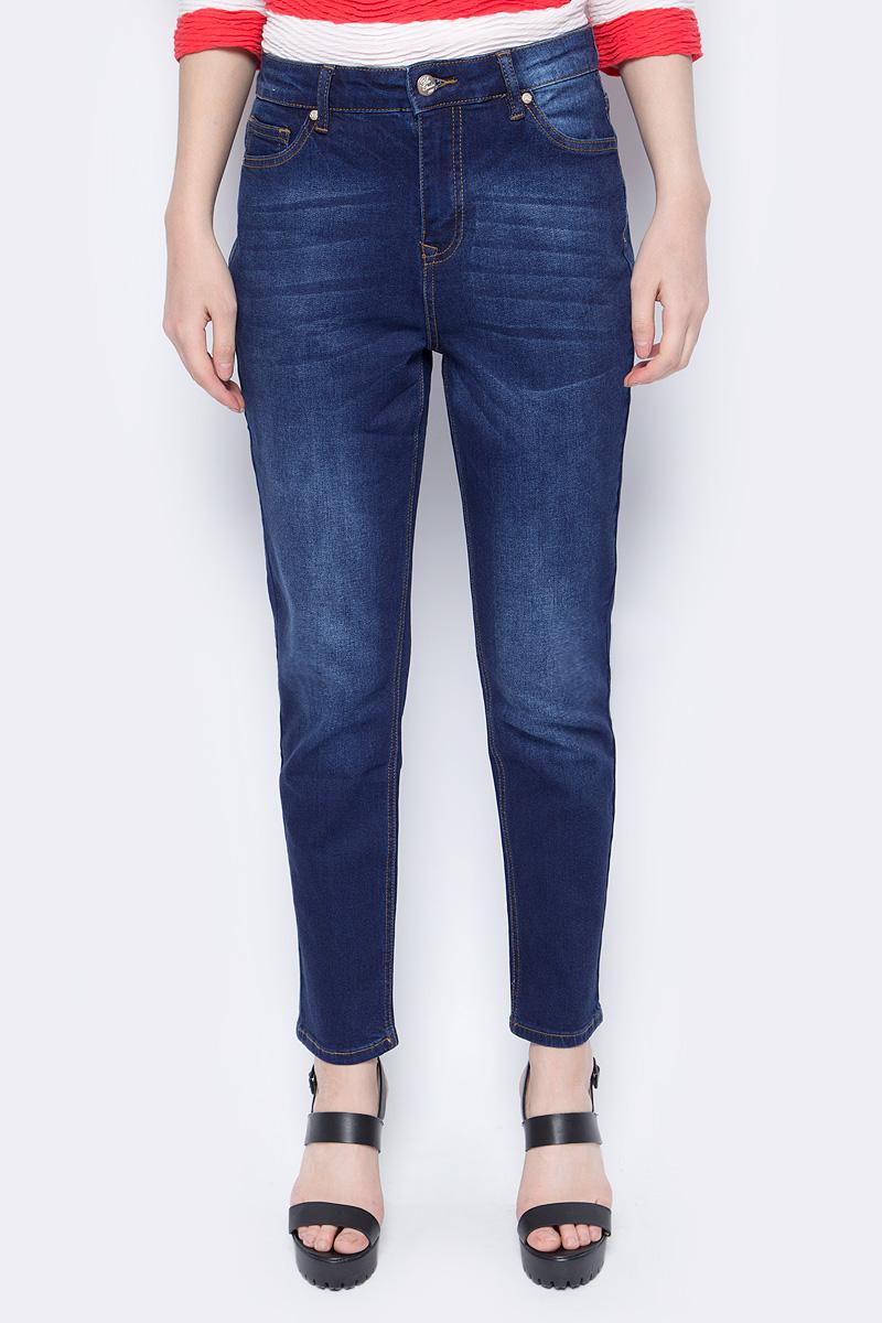 Брюки женские Sela, цвет: синий. PJ-135/641-8102. Размер 33-32 (50-32) брюки sela брюки