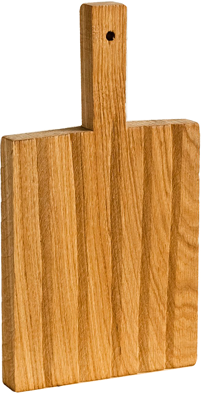 Доска разделочная Fuga Поле, цвет: коричневый, 32 х 17 х 2,5 см1380502FUGA — не просто кухонная утварь, это российские традиции, воплощённые в современном дизайне.Как известно, деревянную посуду используют в быту испокон веков, а для современной хозяйки это ещё и эстетика, надёжность и экологичность.Разделочная доска FUGA изготавливается из натурального дуба, который обладает естественными антисептическими свойствами и является одним из самых прочных материалов. Для финишного покрытия вместо лака используется льняное масло. С помощью естественного морения дереву придают разные оттенки. Благодаря такой обработке не только меняется окраска, но и уничтожается грибок.Для FUGA важен не только дизайн, но и функциональность. Поэтому такую доску можно мыть даже в посудомоечной машине.
