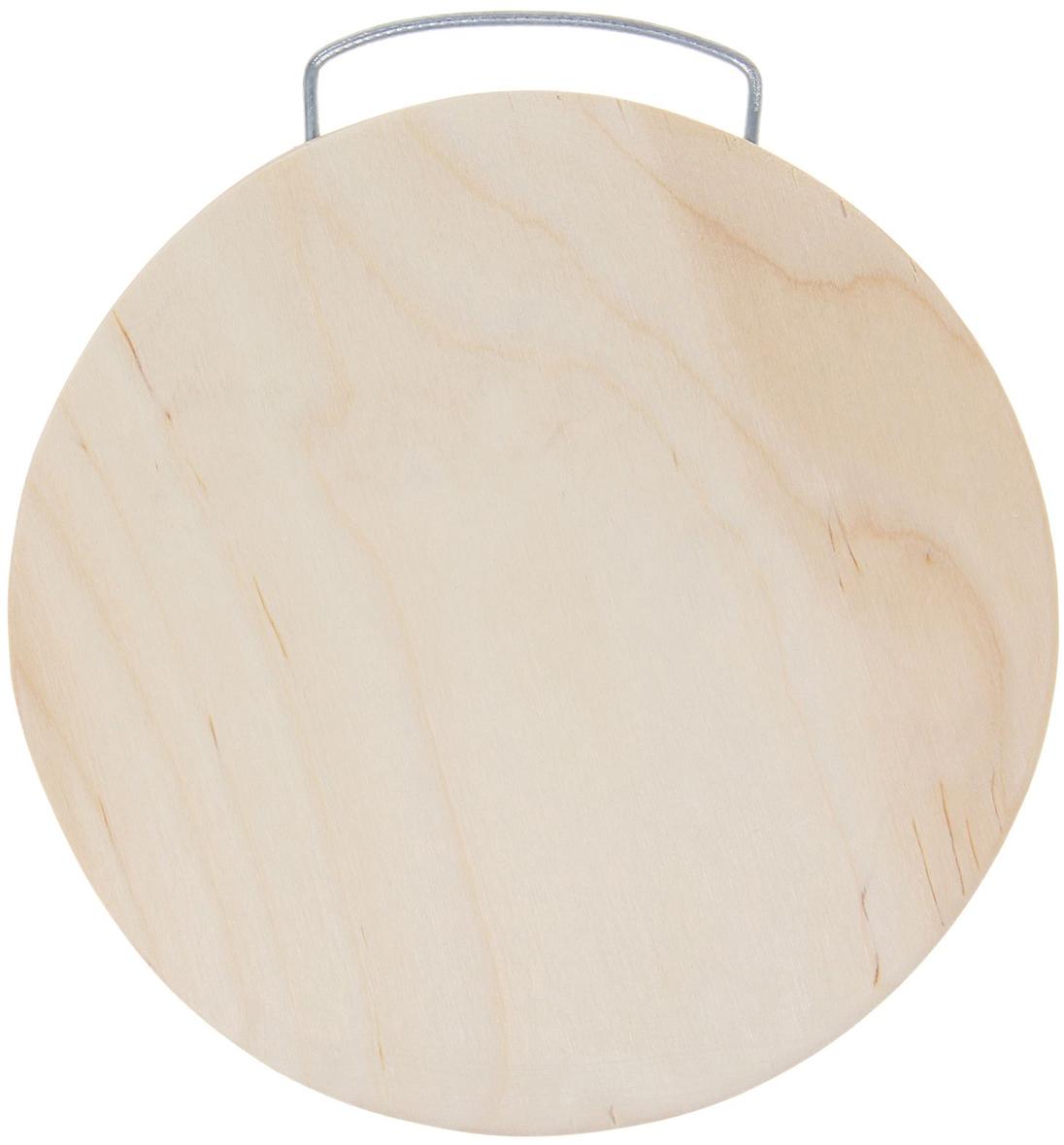 Доска разделочная Натуральное дерево, цвет: бежевый, 27 х 25 х 0,8 см1398560От качества посуды зависит не только вкус еды, но и здоровье человека. Доска— товар, соответствующий российским стандартам качества. Любой хозяйке будет приятно держать его в руках. С такой посудой и кухонной утварью приготовление еды и сервировка стола превратятся в настоящий праздник.