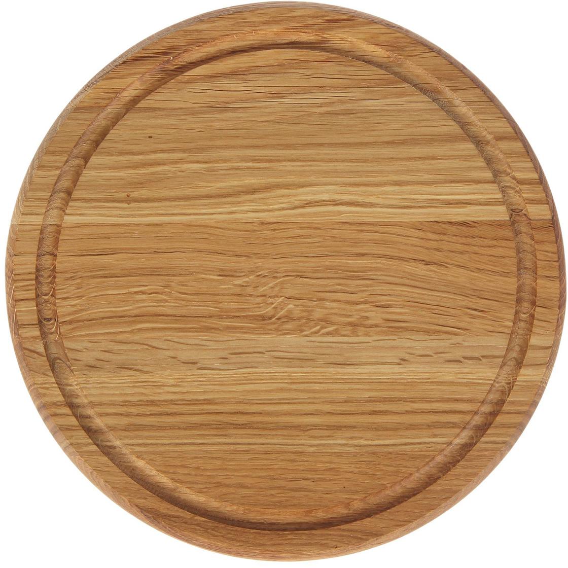 Доска разделочная Доброе дерево Для пиццы, цвет: бежевый, 25 х 25 х 2 см1893045Такую разделочную доску можно использовать и в качестве подноса. Подав пиццу таким образом, вы удивите своих гостей.Изделие выполнено из древесины твёрдых пород, которые менее чувствительны к влаге. Этот материал имеет больший срок службы. Также такая древесина приспособлена для ежедневной нарезки твёрдых продуктов.Уход за деревянной разделочной доскойОбработайте перед первым применением. Используйте пищевое минеральное или льняное масло. Протрите им доску и дайте впитаться в древесину. Уберите излишки масла сухой тканью. Повторяйте процедуру каждые 2?3 месяца, так вы предотвратите появление пятен, плесени и запахов еды. Для сохранения гладкости протирайте изделие наждачной бумагой. Используйте несколько разделочных досок для разного вида пищи. Это препятствует распространению бактерий сырых продуктов. Тщательно мойте и дезинфицируйте разделочную доску мылом и горячей водой после каждого использования. После этого высушите. Чтобы избавиться от запаха чеснока или лука, смажьте доску солью с лимоном. Через пару минут протрите поверхность и промойте её. Храните доску в сухом месте в вертикальном положении и вдали от посторонних запахов. Соблюдайте рекомендации, и разделочная доска прослужит вам долгие годы!