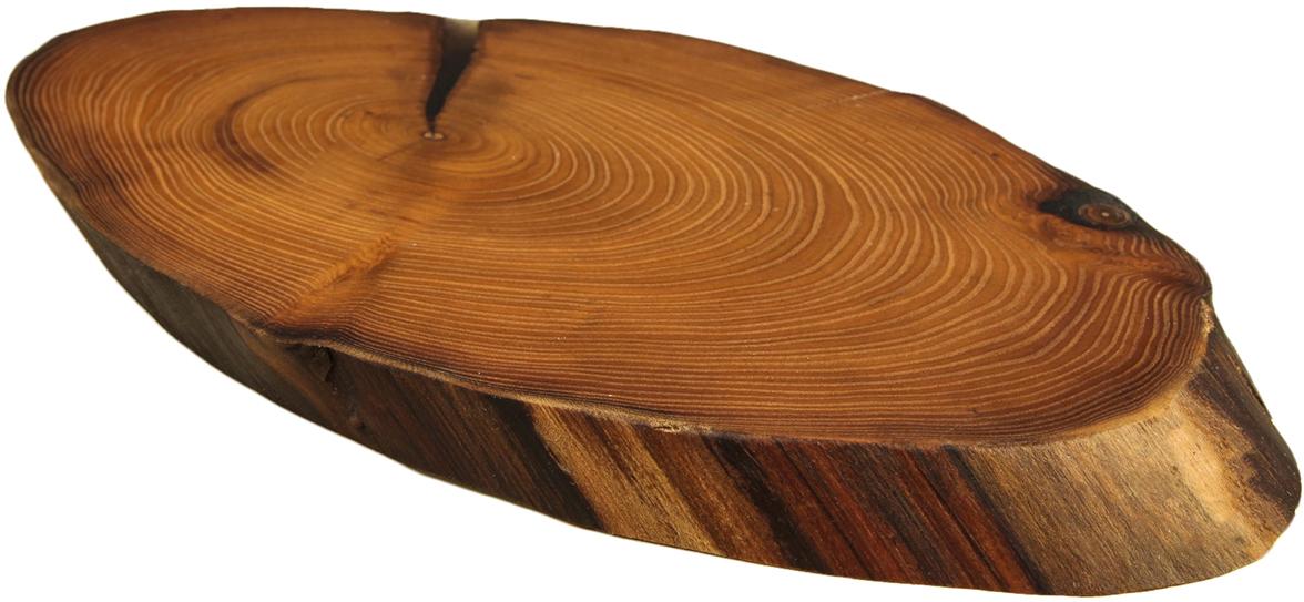 Доска разделочная Доброе дерево Спил оливы, цвет: коричневый, 40 х 21 х 3 см2863022Эта доска подойдёт для подачи мяса, овощей или выпечки. Благодаря текстуре натурального дерева блюда на таком изделии выглядят аппетитно и необычно.Особенности:каждый предмет создаётся вручную, имеет индивидуальный размер и форму;доски делают только из ценной древесины — дуба, акации, оливы, ясеня, ореха;во время производства заготовки обрабатывают маслом, что повышает их прочность и предотвращает образование плесени.Наличие трещин на изделии — это природная особенность дерева, высушенного естественным способом.