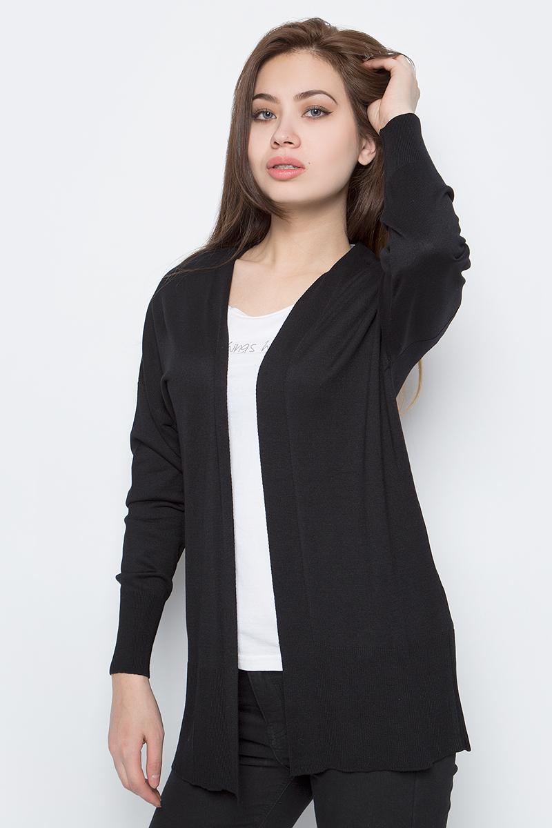 Кардиган женский adL, цвет: черный. 13432011001_001. Размер S (42/44)