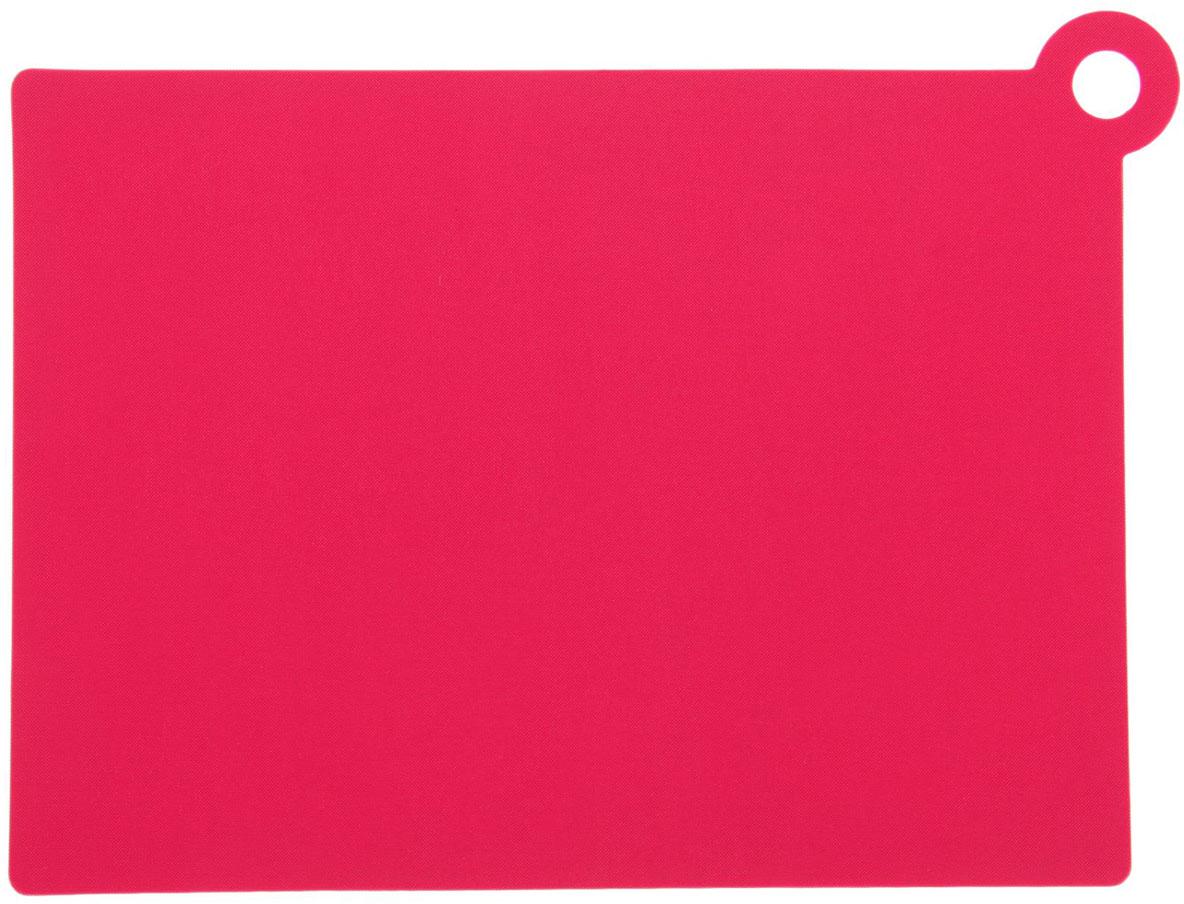 Доска разделочная Доляна, гибкая, противоскользящая, цвет: розовый, 26 х 19 х 0,2 см1001857От качества посуды зависит не только вкус еды, но и здоровье человека. Доска— товар, соответствующий российским стандартам качества. Любой хозяйке будет приятно держать его в руках. С такой посудой и кухонной утварью приготовление еды и сервировка стола превратятся в настоящий праздник.