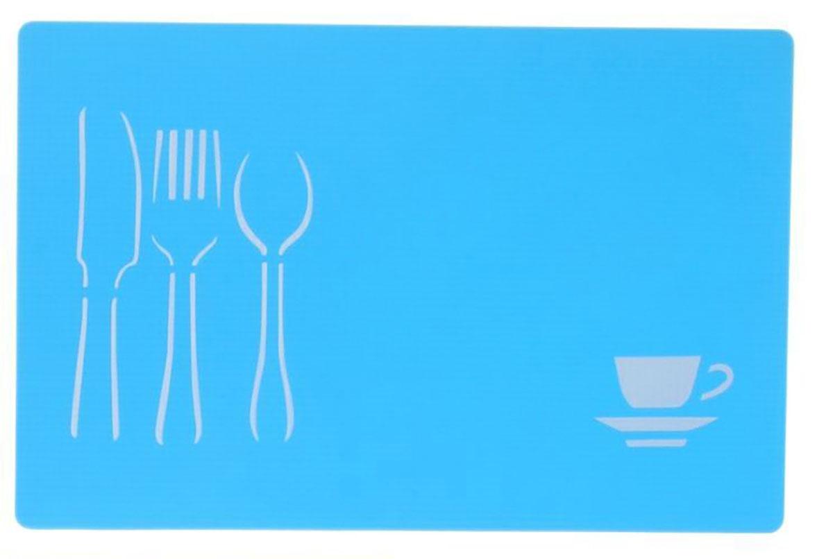Доска разделочная Доляна, противоскользящая, гибкая, цвет: голубой, 28 х 43 х 0,1 см769899От качества посуды зависит не только вкус еды, но и здоровье человека. Доска— товар, соответствующий российским стандартам качества. Любой хозяйке будет приятно держать его в руках. С такой посудой и кухонной утварью приготовление еды и сервировка стола превратятся в настоящий праздник.