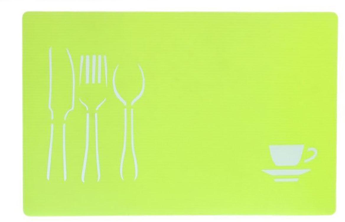 Доска разделочная Доляна, противоскользящая, гибкая, цвет: зеленый, 28 х 43 х 0,1 см769899От качества посуды зависит не только вкус еды, но и здоровье человека. Доска— товар, соответствующий российским стандартам качества. Любой хозяйке будет приятно держать его в руках. С такой посудой и кухонной утварью приготовление еды и сервировка стола превратятся в настоящий праздник.