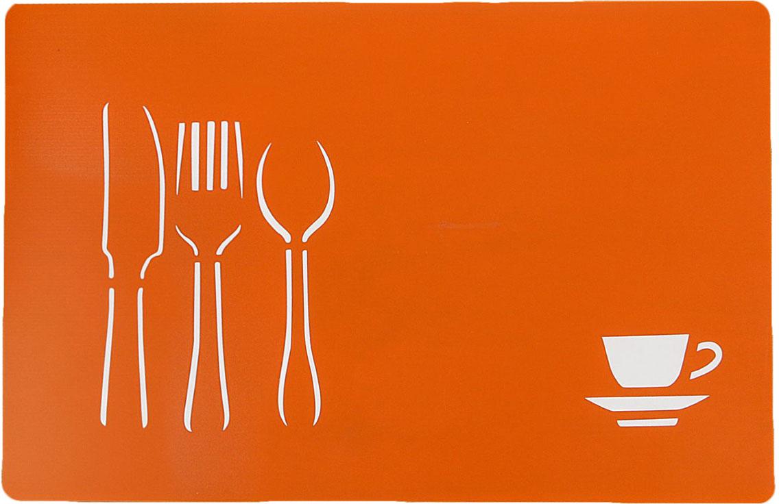 Доска разделочная Доляна, противоскользящая, гибкая, цвет: оранжевый, 28 х 43 х 0,1 см769899От качества посуды зависит не только вкус еды, но и здоровье человека. Доска— товар, соответствующий российским стандартам качества. Любой хозяйке будет приятно держать его в руках. С такой посудой и кухонной утварью приготовление еды и сервировка стола превратятся в настоящий праздник.