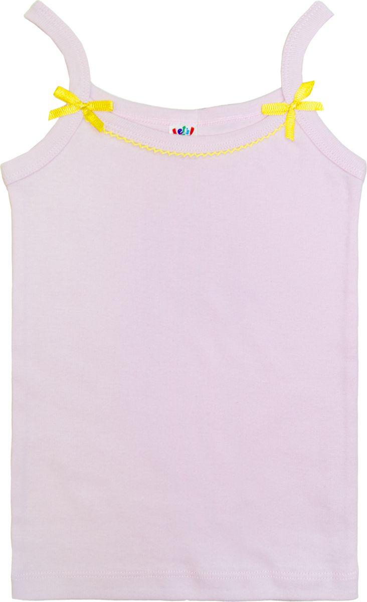 Майка для девочки Let's Go, цвет: светло-сиреневый. 2149. Размер 98/104 спортивный костюм для девочки let s go цвет фиолетовый 11114 размер 164