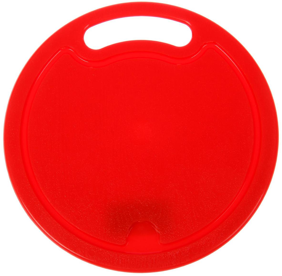 Доска разделочная ИскраПласт, цвет: красный, 25 х 25 х 0,6 см2331825От качества посуды зависит не только вкус еды, но и здоровье человека. Доска— товар, соответствующий российским стандартам качества. Любой хозяйке будет приятно держать его в руках. С такой посудой и кухонной утварью приготовление еды и сервировка стола превратятся в настоящий праздник.