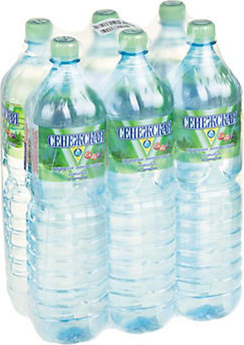 Сенежская Вода негазированная, 6 шт по 1,5 л сенежская вода малютка 5 л