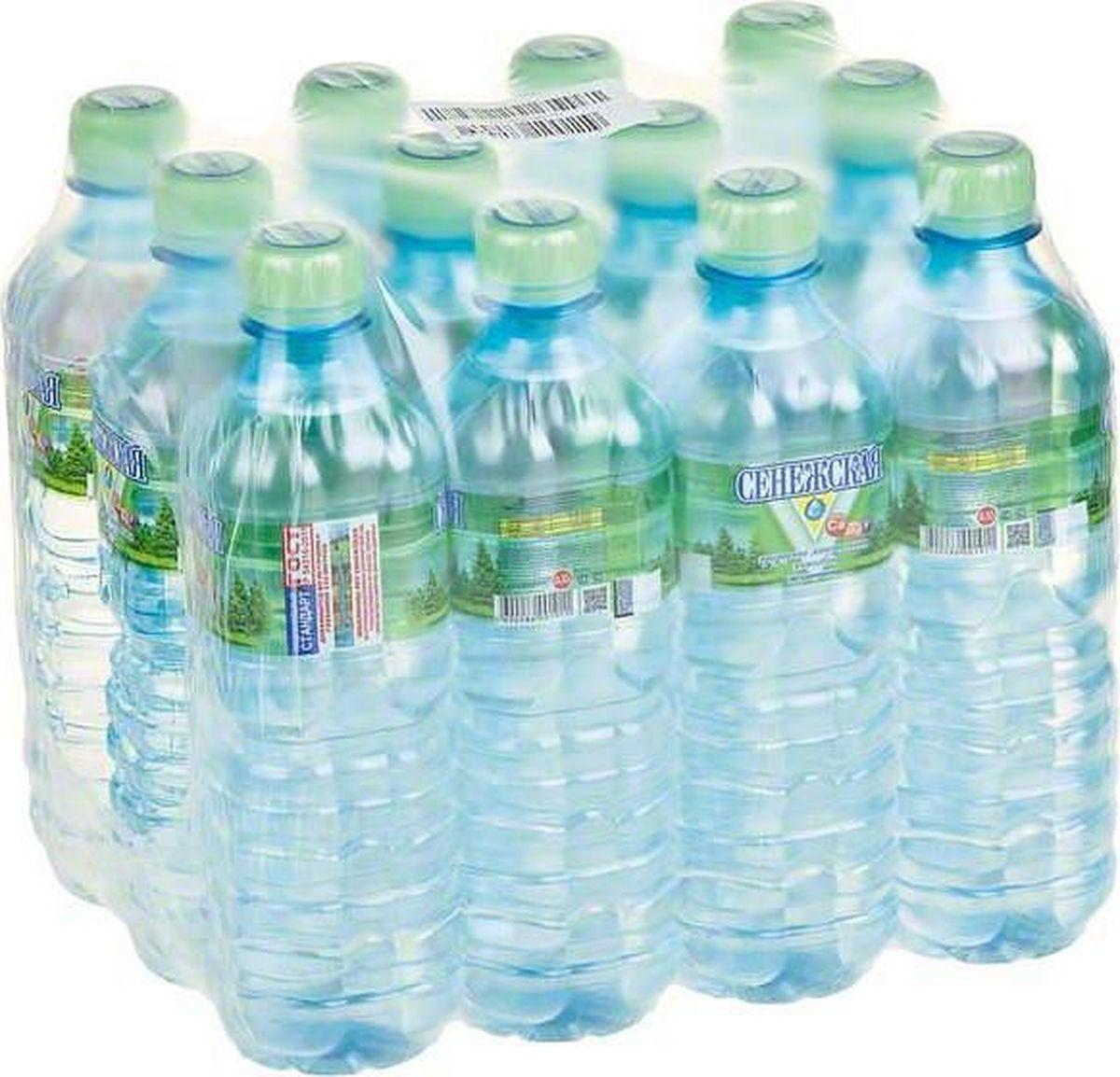 Сенежская Вода негазированная, 12 шт по 0,5 л сенежская вода малютка 5 л
