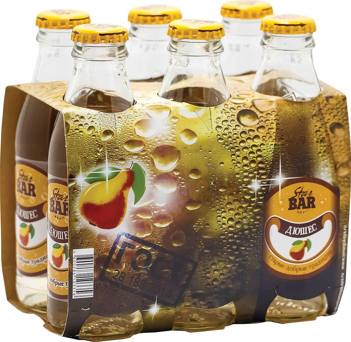 Star Bar Лимонад Дюшес, 6 шт по 0,175 л о напиток газированный дюшес о 2л